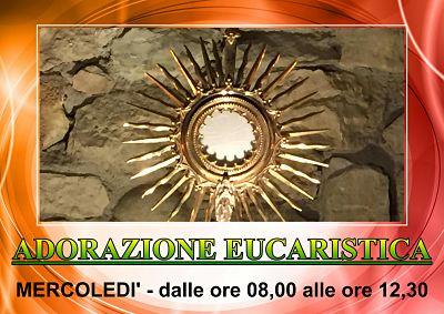 Adorazione Eucaristica Mercoledi'